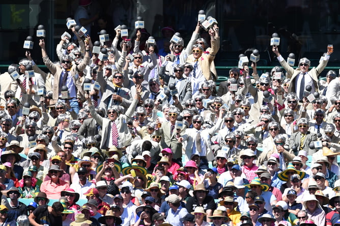 The rise of 'the Richies' half a century after Benaud's time as a Test captain, here at the match against India in Sydney in January, is evidence of a career that became a cultural phenomenon. AAP/Dean Lewins
