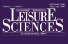 Leisure Sciences Volume 36, Issue 5, October–December 2014