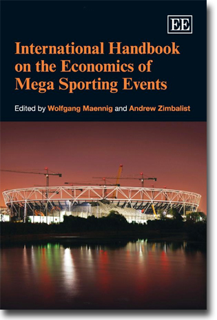 Wolfgang Maennig & Andrew Zimbalist (red) International Handbook on the Economics of Mega Sporting Events 640 sidor, inb. Cheltenham, Glos: Edward Elgar 2012 (International Library of Critical Writings in Economics) ISBN 978-0-85793-026-2