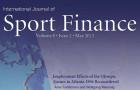 International Journal of Sport Finance Volume 9, Issue 3, August 2014