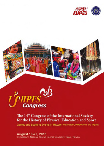 Please click on the picture to access the pdf-book of program and abstracts from the ISHPEA 2013 congress.
