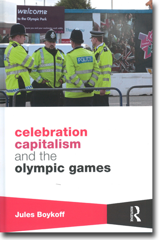 Jules Boykoff Celebration Capitalism and the Olympic Games 170 sidor, inb., ill. Abingdon, Oxon: Routledge 2014 (Routledge Critical Studes in Sport) ISBN 978-0-415-82197-1