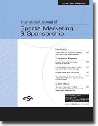 journal articles and reviews athletic marketing