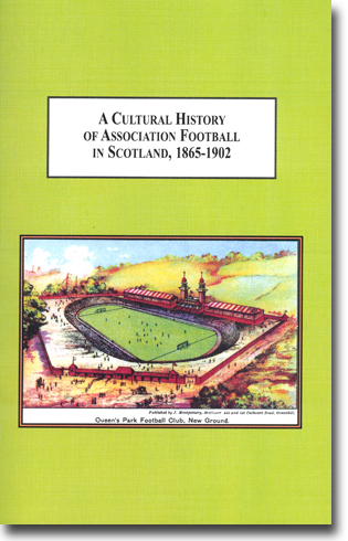 Matthew L. McDowell A Cultural History of Association Football in Scotland, 1865-1902: Understanding Sports as a Way of Understanding Society 432 sidor, inb. Lewiston, NY: The Edwin Mellen Press 2013 ISBN 978-0-7734-4525-3