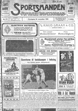 Sportsmanden 1918