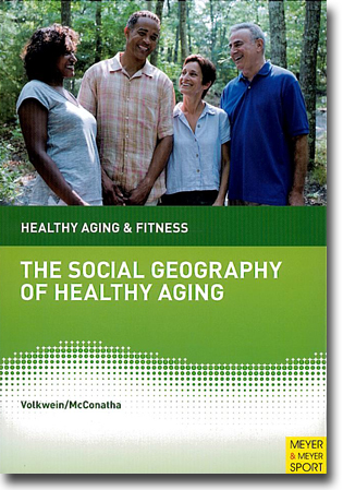Jasmin Tahmaseb McConatha & Karin Volkwein-Caplan The Social Geography of Healthy Aging: The Importance of Place and Space 174 sidor, hft., ill. Maidenhead, Berks.: Meyer & Meyer Sport 2012 ISBN 978-1-84126-352-6