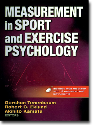 Gershon Tenenbaum, Robert C. Eklund & Akihito Kamata (red) Measurement in Sport and Exercise Psychology 552 sidor, inb. Champaign, IL: Human Kinetics 2012 ISBN 978-0-7360-8681-3