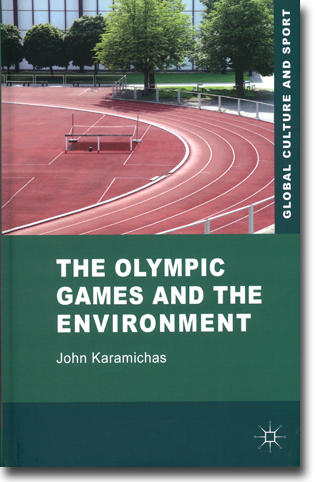 John Karamichas The Olympic Games and the Environment 242 sidor, inb. Basingstoke, Hamps.: Palgrave Macmillan 2013 (Global Culture and Sport) ISBN 978-0-230-22861-0
