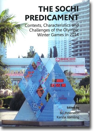 Bo Petersson & Karina Vamling (red) The Sochi Predicament: Contexts, Characteristics and Challenges of the Olympic Winter Games in 2014 258 sidor, inb. Newcastle upon Tyne: Cambridge Scholars Publishing 2013 ISBN 978-1-4438-4937-1