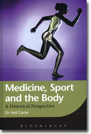 Neil Carter Medicine, Sport and the Body: A Historical Perspective 290 sidor, inb. London: Bloomsbury 2012 ISBN 978-1-84966-067-9