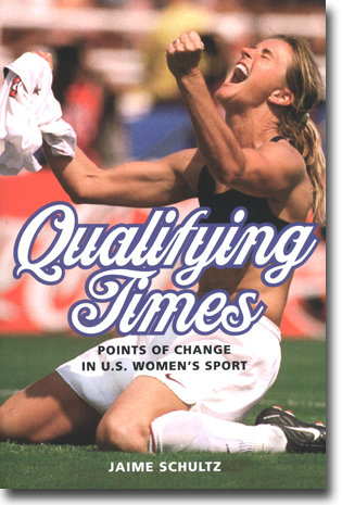 Jaime Schultz Qualifying Times: Points of Change in U.S. Women's Sport 280 sidor, hft., ill. Urbana and Chicago, IL: University of Illinois Press 2014 (Sport and Society) ISBN 978-0-252-07974-0