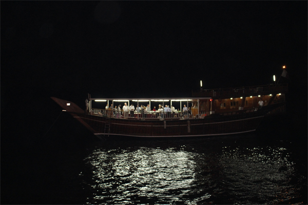 A night out on a Dhow.