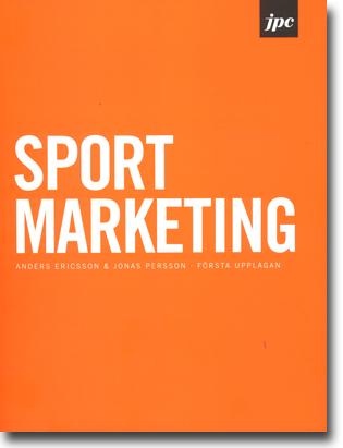 Anders Ericsson & Jonas Persson Sport Marketing 173 sidor, hft., ill. Stockholm: JPC 2013 ISBN 978-91-6373986-6