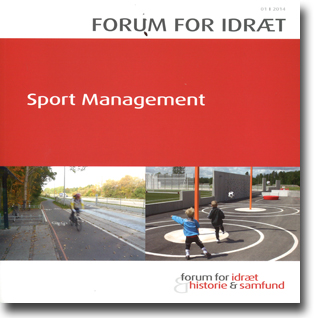 Ulrik Wagner, Rasmus K. Storm & Peter Juul Jacobsen (red) Forum for idræt 2014 Sport Management 101 sidor, hft., ill. Odense: Syddansk Universitetsforlag 2014 ISBN 978-87-7674-875-3
