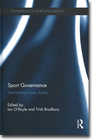 Ian O Boyle amp Trish Bradbury red Sport Governance International Case ...