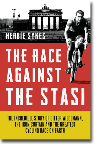 Herbie Sykes The Race Against the Stasi: The Incredible Story of Dieter Wiedemann, The Iron Curtain and The Greatest Cycling Race on Earth 400 sidor, inb. London: Aurum Press 2014 ISBN 978-1-78131-308-4