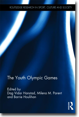 Dag Vidar Hanstad, Milena M. Parent & Barrie Houlihan (red) The Youth Olympic Games 250 pages, inb. Abingdon, Oxon: Routledge 2014 ISBN 978-0-415-83987-7