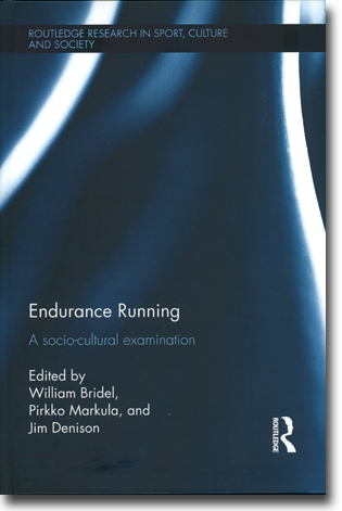 William Bridel, Pirkko Markula & Jim Denison (red) Endurance Running: A socio-cultural examination 253 pages, hardcover. Abingdon, Oxon: Routledge 2016 (Routledge Research in Sport Culture and Society 51) ISBN 978-1-138-81042-6