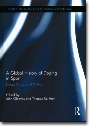 John Gleaves & Thomas M. Hunt (red) A Global History of Doping in Sport: Drugs, Policy, and Politics 159 pages, inb. Abingdon, Oxon: Routledge 2015 (Sport in the Global Society – Historical Perspectives) ISBN 978-1-138-84094-2