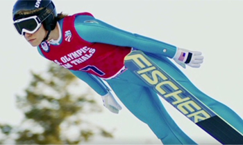 Not only a history of ski jumping, but also a call for more women to participate