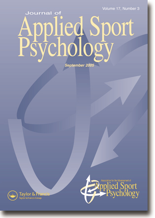 Cover, Journal of Applied Sport Psychology