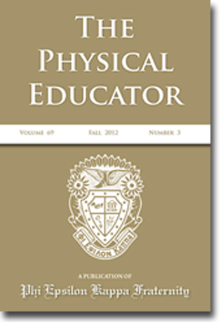 Cover, The Physical Educator