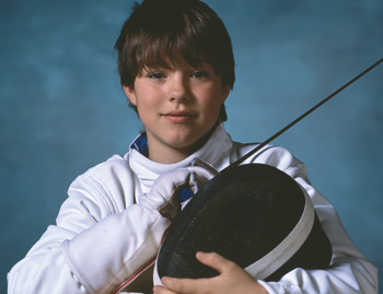 young-fencer