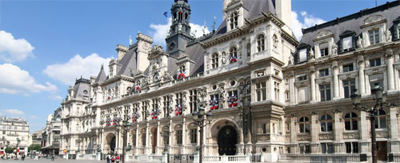 Event venue: The Hôtel de Ville, a symbolic monument.
