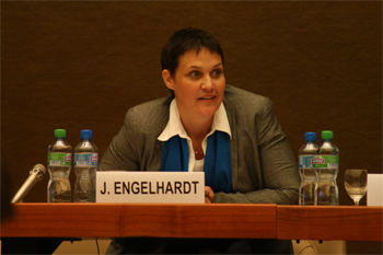 Jutta Engelhardt had been working in the field of development and social change for the last 10 years, when she came across sport as an effective method to trigger and support sustainable development.