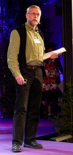 Klas Sandell. Foto: Thomas Gustavsson, Riksantikvarieämbetet