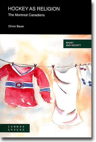 Olivier Bauer Hockey as Religion: The Montreal Canadians 84 sidor, hft., ill. Champaign, IL: Common Ground 2011 (Sport and Society) ISBN 978-1-86335-930-6