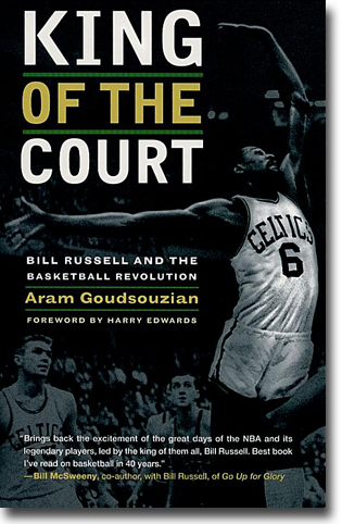 Aram Goudsouzian King of the Court: Bill Russell and the Basketball Revolution 423 sidor, hft., ill. Berkeley, CA: University of California Press 2010 ISBN 978-0-520-26979-8