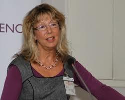 Kathy Armour keynote-talade på SVEBI-konferensen.