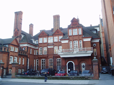 Lowther Lodge, Royal Geographical Society (with Institute of British Geographers) headquarters, designed by Richard Norman Shaw