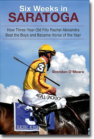 Brendan O'Meara Six Weeks in Saratoga: How Three-Year-Old Filly Rachel Alexandra Beat the Boys and Became Horse of the Year 267 sidor, inb. Albany, NY: Excelsior Editions (Suny Press) 2011 ISBN 978-1-4384-3941-9