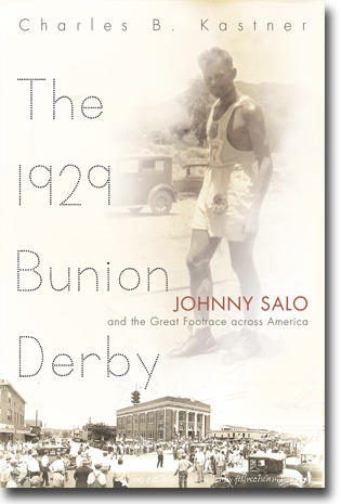 Charles B. Kastner The 1929 Bunion Derby: Johnny Salo and the Great Footrace Across America 304 sidor, inb. Syracuse, NY: Syracuse University Press 2014 (Sports and Entertainment) ISBN 978-0-8156-1036-6