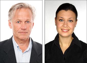 Peter Schantz & Linn Wahlgren