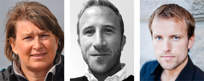 Ulrika Tranaeus Fitzgerald, Joakin Ingrell, Fredrik Weibull.