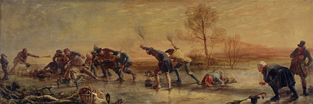 Sir George Harvey: The Curlers, 1835