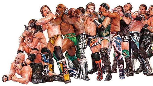 pro-wrestlers