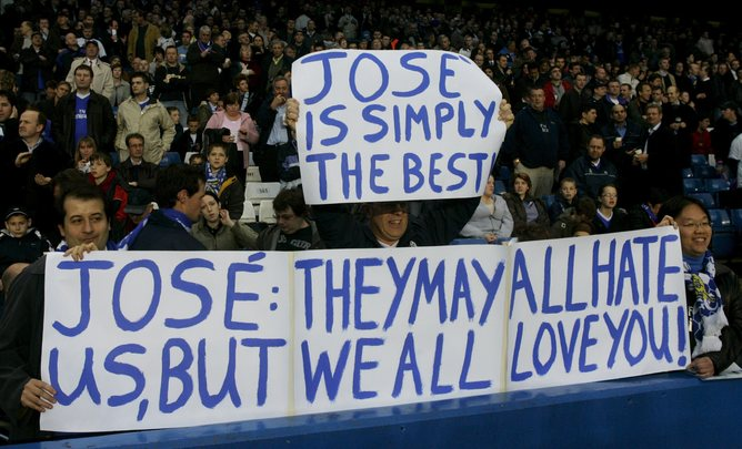 Mourinho's track record has won him the love of the fans. EPA/QMatthias Schrader