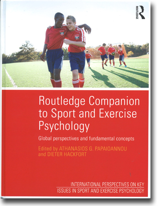 Athanasios G. Papaioannou & Dieter Hackfort (red) Routledge Companion to Sport and Exercise Psychology: Global perspectives and fundamental concepts 1002 pages, h/c. Abingdon, Oxon: Routledge 2014 (International Perspectives on Key Issues in Sport and Exercise Psychology) ISBN 978-1-84872-128-9