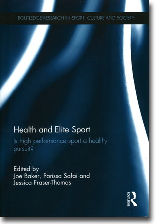 Joseph Baker, Parissa Safai & Jessica Fraser-Thomas (red) Health and Elite Sport: Is High Performance Sport a Healthy Pursuit? 205 pages, inb. Abingdon, Oxon: Routledge 2015 ISBN 978-0-415-70866-1