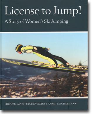 Marit Stub Nybelius & Annette R. Hofmann (red) License to Jump!: A Story of Women's Ski Jumping 137 sidor, hardcover, ill. Göteborg: Beijbom Books 2015 ISBN 978-91-86581-35-0