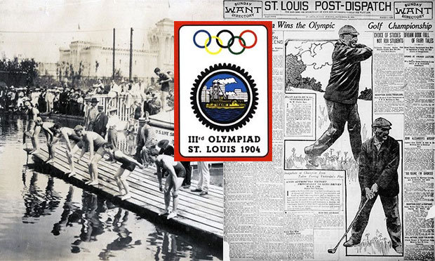 1904 Olympics in St. Louis